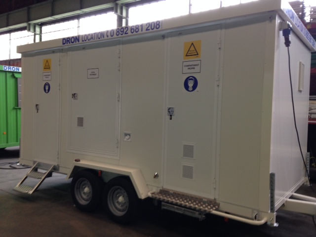 location unit mobile de d contamination umd 5 sas dron location. Black Bedroom Furniture Sets. Home Design Ideas
